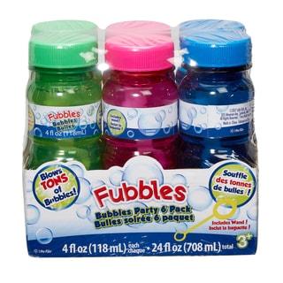 Little Kids Fubbles Bubbles 6 Pack