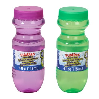 Little Kids Monster Bubble Wand Concentrate 2 Pack