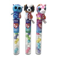 Ty Beanie Plush Candy Tube Topper Duke, Fantasia, Oscar