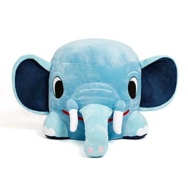 Zuzu Plush Elephant Stool