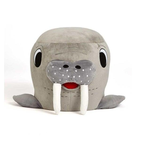 Zuzu Plush Walrus Stool