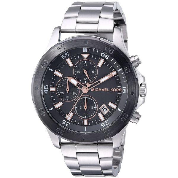 da9b761beddcc Shop Michael Kors Men s MK8569  Walsh  Chronograph Stainless Steel Watch -  Free Shipping Today - Overstock - 16635514