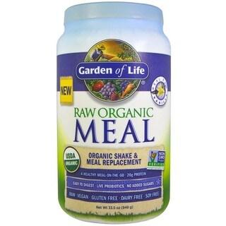 Garden of Life RAW 33.5-ounce Organic Meal Vanilla