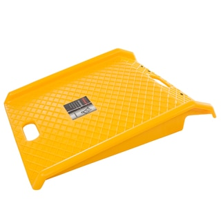 Curb Ramp, Heavy Duty Portable Poly Ramp With 1000 Lbs Weight Capacity By Stalwart