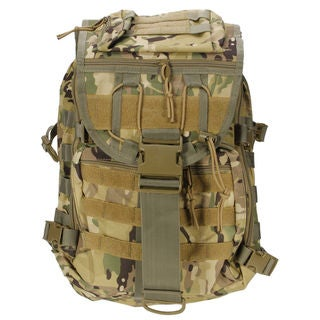 X7 Outdoor 35L Multi-functional Tactical Backpack (Option: Black)