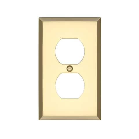 Graham Single Duplex Outlet Cover