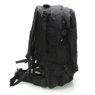 Outdoor 600D Oxford Cloth Backpack for Tactical / War-game / Wild Adventure / Outdoor Sports Black