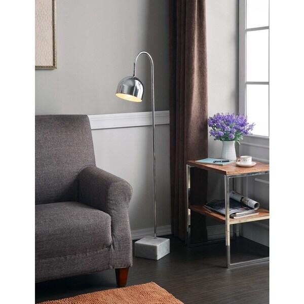 Design Craft Renegade Chrome Floor Lamp