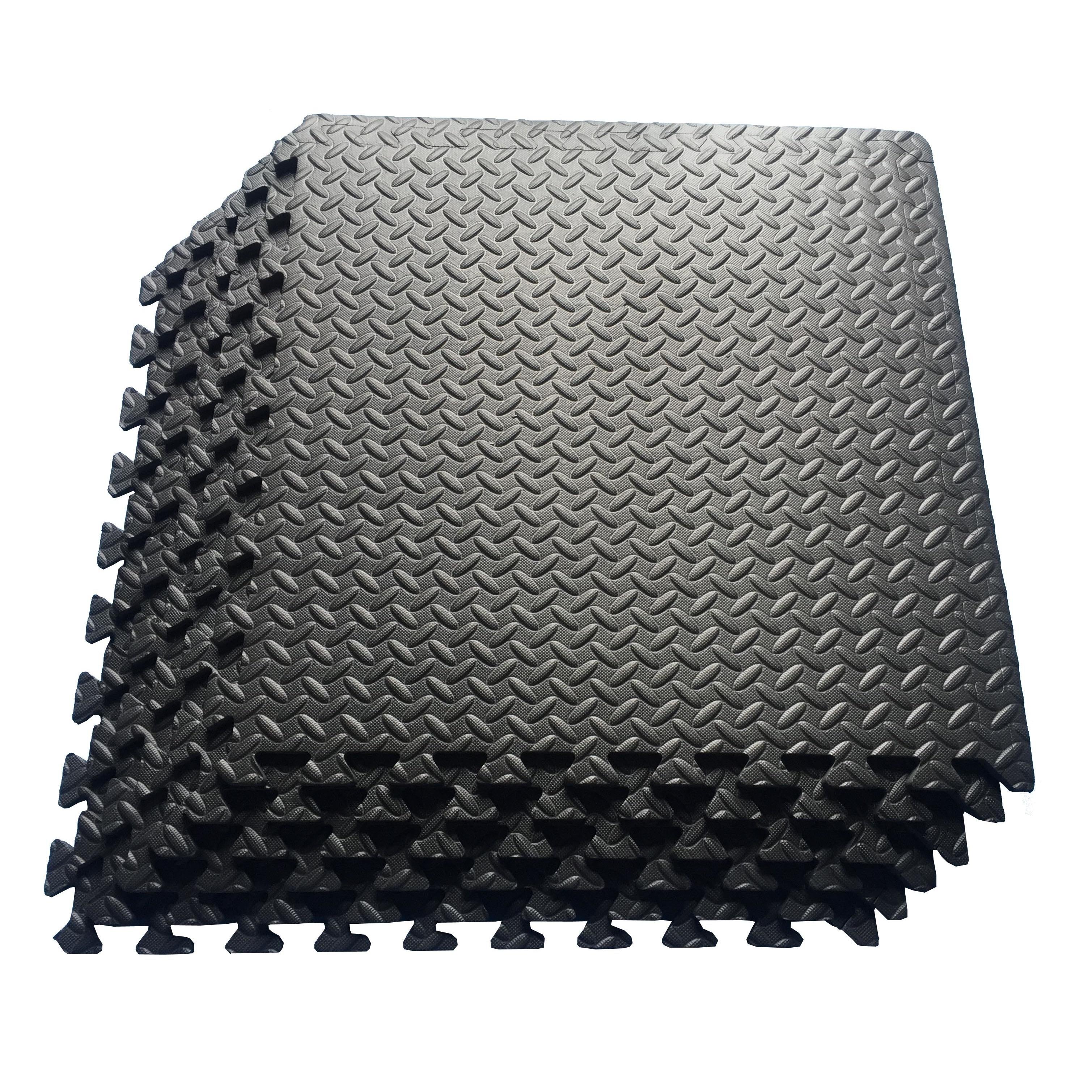 Exercise Puzzle Mat Tiles Multipurpose Interlocking EVA Foam Anti-Fatigue New