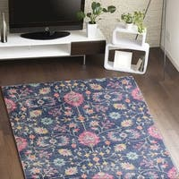 "A Bygone Era 'Brent' Multicolored Area Rug (3'8"" x 5'6"")"