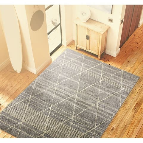 Lola Contemporary Hand Tufted Area Rug