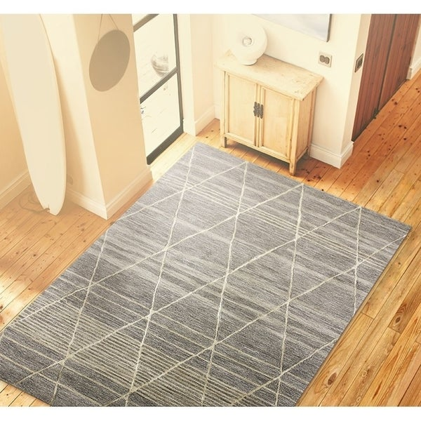 Lola Contemporary Hand Tufted Area Rug. Opens flyout.