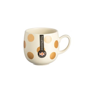 Price and Kensington Gold Spot 14oz Mug Set - Set of 6