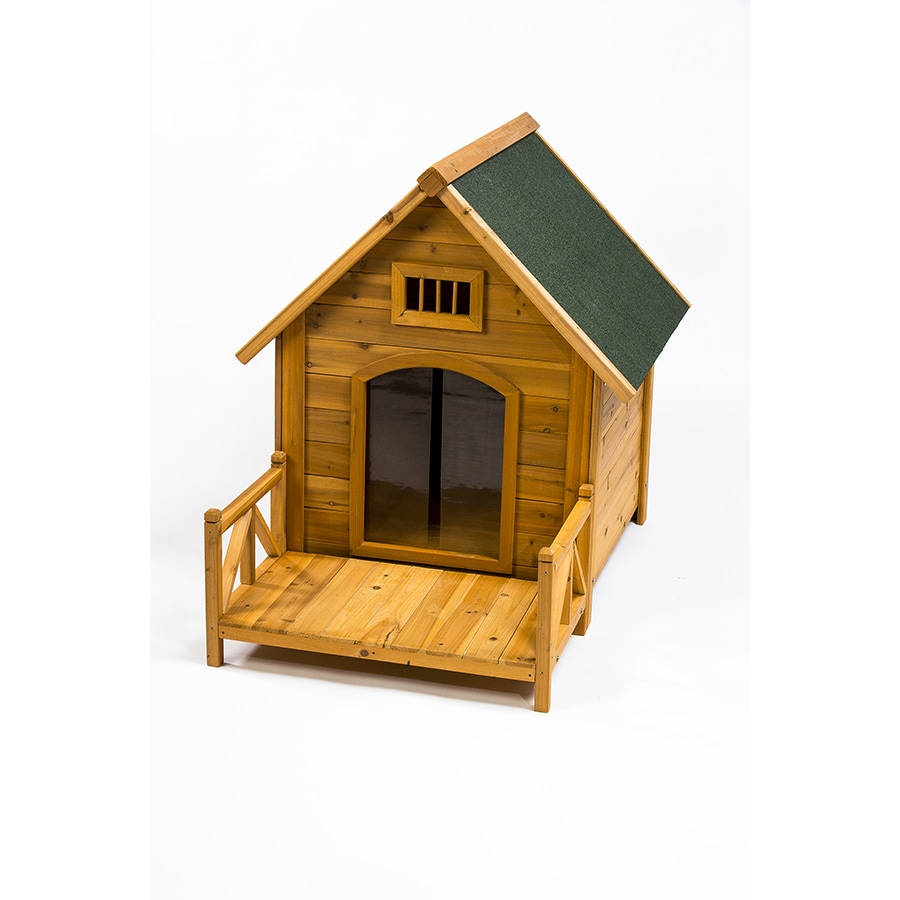 Creative Cedar Designs K-9 Kastle Medium Dog house (Mediu...