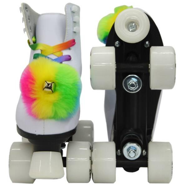 Rainbow Bag Bundle Details about  /Epic Allure Twilight LED Light Up Quad Roller Skate 3 Pc