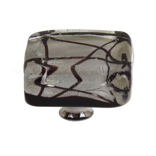 GlideRite 1.25 inch Square Clear Art Deco Acrylic Cabinet Knobs (Pack of 10 or 25)