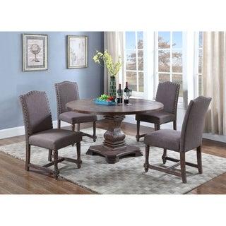 Best Master Furniture M084 Otter 5 Pieces Dining Set