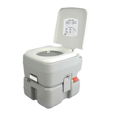 SereneLife SLCATL320 Portable Toilet - Outdoor & Travel Toilet, 5.3 Gal.