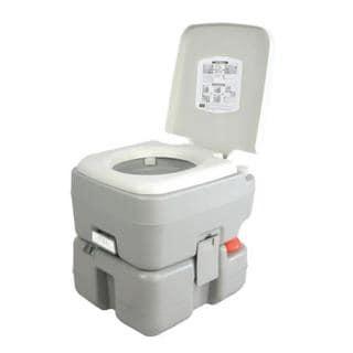 SereneLife SLCATL320 Portable Toilet - Outdoor & Travel Toilet, 5.3 Gal.