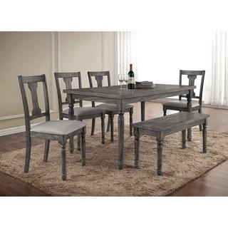Best Master Furniture Demi 6 Piece Dining Set