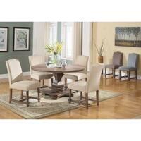 Best Master Furniture M084 Tan 5 Pieces Dining Set