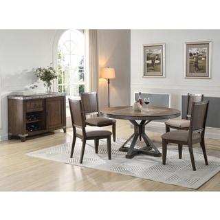 Best Master Furniture DX1520 5 Piece Round Dining Set
