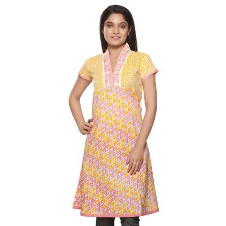 745d03040b3 Shop Handmade In-Sattva Women's Indian Ethnic Kurta Tunic Embroidered  Neckline (India) - On Sale - Free Shipping On Orders Over $45 - Overstock -  16636698