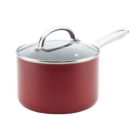 Farberware(r) Buena Cocina(tm) Aluminum Nonstick Covered Saucepan