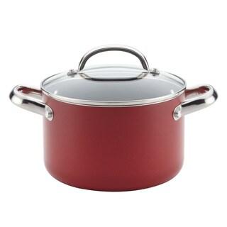 Farberware(r) Buena Cocina(tm) Aluminum Nonstick Covered Soup Pot