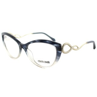 Roberto Cavalli RC 5009 092 Blue-striped Plastic 54mm Cat-eye Eyeglasses