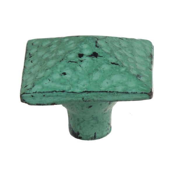 5 10 25 Cabinet Pull Square Drawer Handles Kitchen: Shop GlideRite 1.5 Inch Distressed Square Pyramid