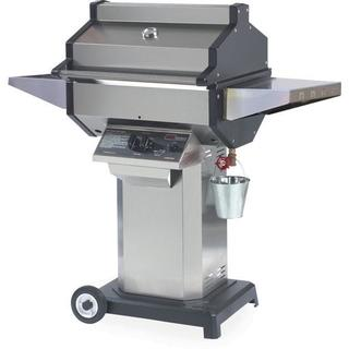 Phoenix SDSSOCP - Stainless Steel Propane Gas Grill Head On Stainless Steel Pedestal Cart With Aluminum Base