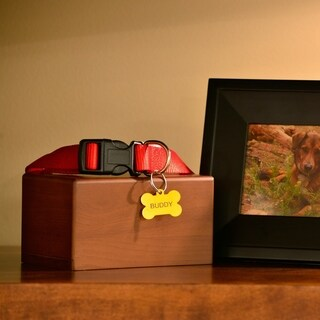 Box Pet Urn, Honeynut - Large