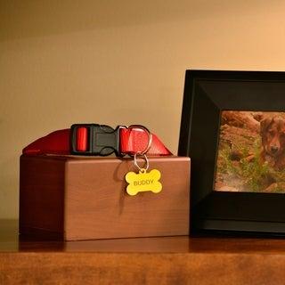 Box Pet Urn, Honeynut - Medium