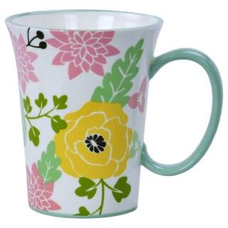 Kityu Gift Ceramic Floral Mug