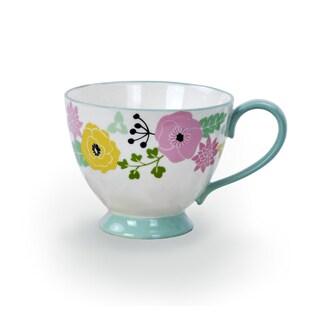 Kityu Gift Ceramic Floral Teacup