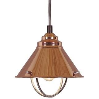 Design Craft Seaport Copper 1-Light Mini Pendant  sc 1 st  Overstock.com & Copper Finish Ceiling Lights For Less   Overstock.com azcodes.com