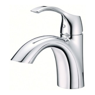Danze Antioch Chrome-finished Silver Metal Single-hole Lavatory Faucet