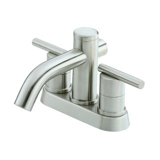 Danze Parma 2H Centerset Lavatory Faucet w/ Metal Touch Down Drain 1.2gpm Brushed Nickel