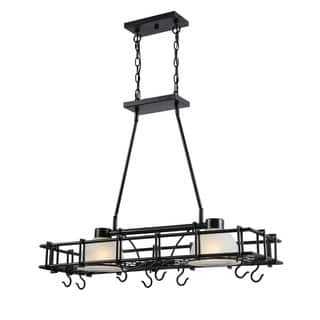 Design Craft Santiago Oil Rubbed Bronze 2-Light Pot Rack|https://ak1.ostkcdn.com/images/products/16639802/P22963420.jpg?impolicy=medium