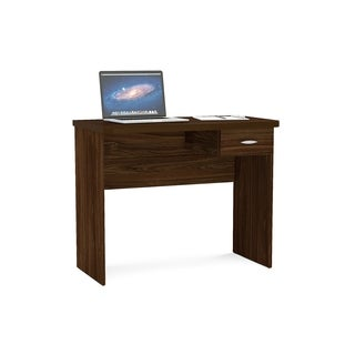 Boahaus Imbuia Brown Wood Writing Computer Desk