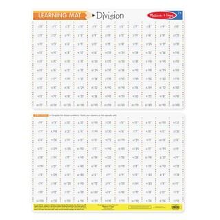 Melissa & Doug Division Problems Write-A-Mat (Bundle of 6)