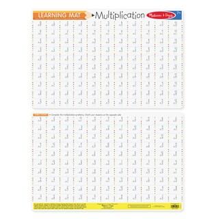 Melissa & Doug Multiplication Problems Write-A-Mat (Bundle of 6)