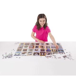 Melissa & Doug 1500 Piece World Windows Cardboard Jigsaw