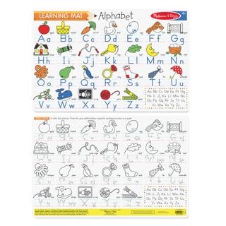Melissa & Doug Alphabet Write-A-Mat (Bundle of 6)