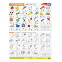 Melissa & Doug Alphabet Write-A-Mat (Bundle of 6)