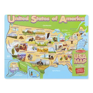 Melissa & Doug USA Map Jigsaw Puzzle|https://ak1.ostkcdn.com/images/products/16640013/P22963609.jpg?impolicy=medium