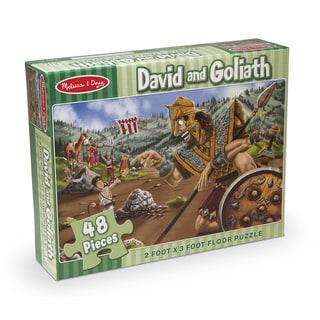 Melissa & Doug David & Goliath Floor Puzzle