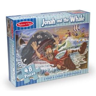 Melissa & Doug Jonah & The Whale Floor Puzzle