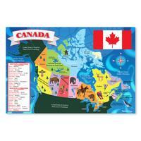 Melissa & Doug Canada 48 Piece Floor Map